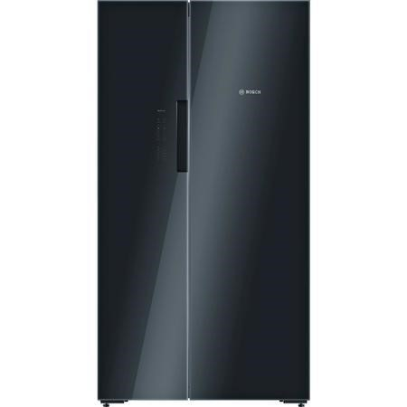 Bosch Serie 8 KAN92LB35G Side by Side Fridge Freezer in Black