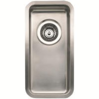 Reginox KANSAS-L18X40 0.5 Bowl Integrated Stainless Steel Sink