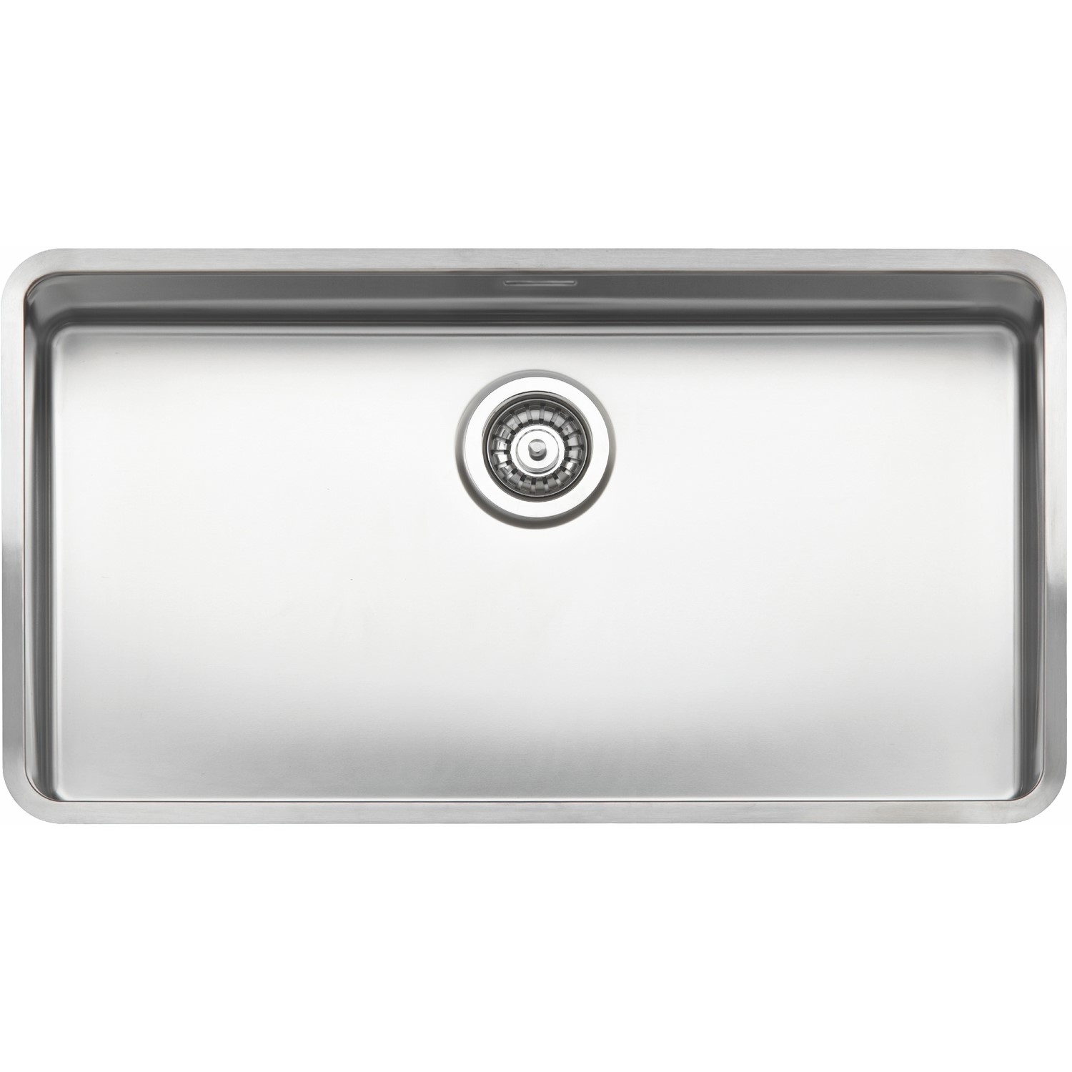 Picture of: Reginox Kansas L80x42 Extra Large 1 0 Bowl Integrated Stainless Steel Sink Appliances Direct