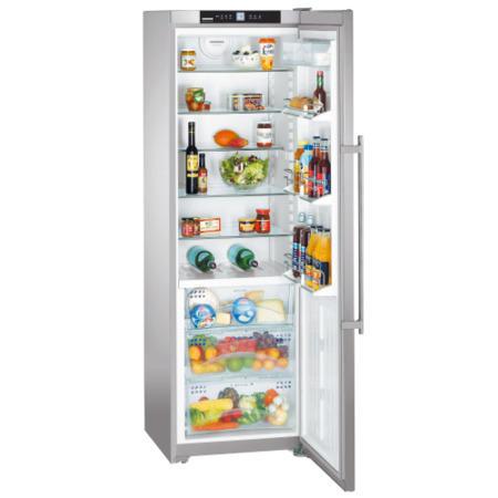 liebherr kbes4260 biofresh freestanding fridge stainless steel appliances direct. Black Bedroom Furniture Sets. Home Design Ideas