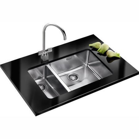 Franke Sink And Tap Packages : Franke KBX16045-20LDP Kubus Undermount 1.5 Bowl Sink and Tap Designer ...
