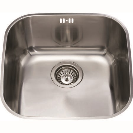 CDA KCC23SS Undermount Medium Plus Bowl Sink