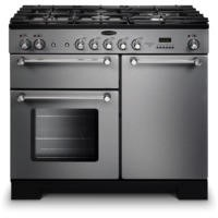 Rangemaster 98780 Kitchener 100cm Dual Fuel Range Cooker - Stainless Steel