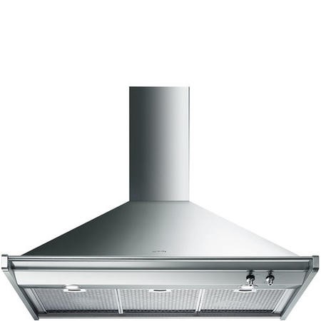 Smeg KD100XE Opera 100cm Chimney Cooker Hood Stainless Steel