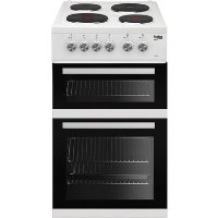 Beko KD532AW KD533AW 50 cm Twin Cavity Electric Cooker - White
