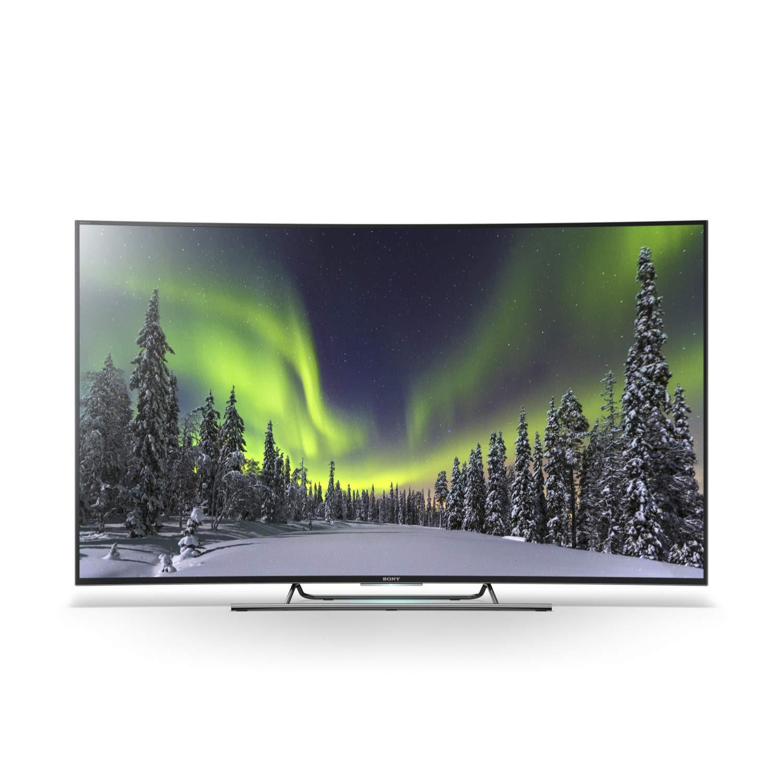 Sony Kd55s8505cbu 55 Inch 4k Ultra Hd 3d Curved Led Tv Appliances