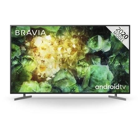 "Sony KD65XH8196BU 65"" 4K Ultra HD HDR Android  LCD TV with Voice Assist"