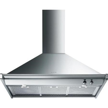 Smeg KD90XE Opera 90cm Chimney Cooker Hood Stainless Steel