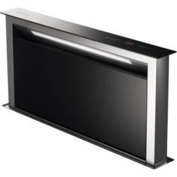 Smeg KDD90VXE 90cm Downdraft Extractor Black Glass And Stainless Steel