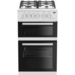 Beko KDG582W 50 cm Twin Cavity Gas Cooker - White