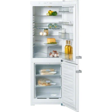 Miele KDN12823S-1 Frost Free White 60cm Wide Freestanding Fridge Freezer