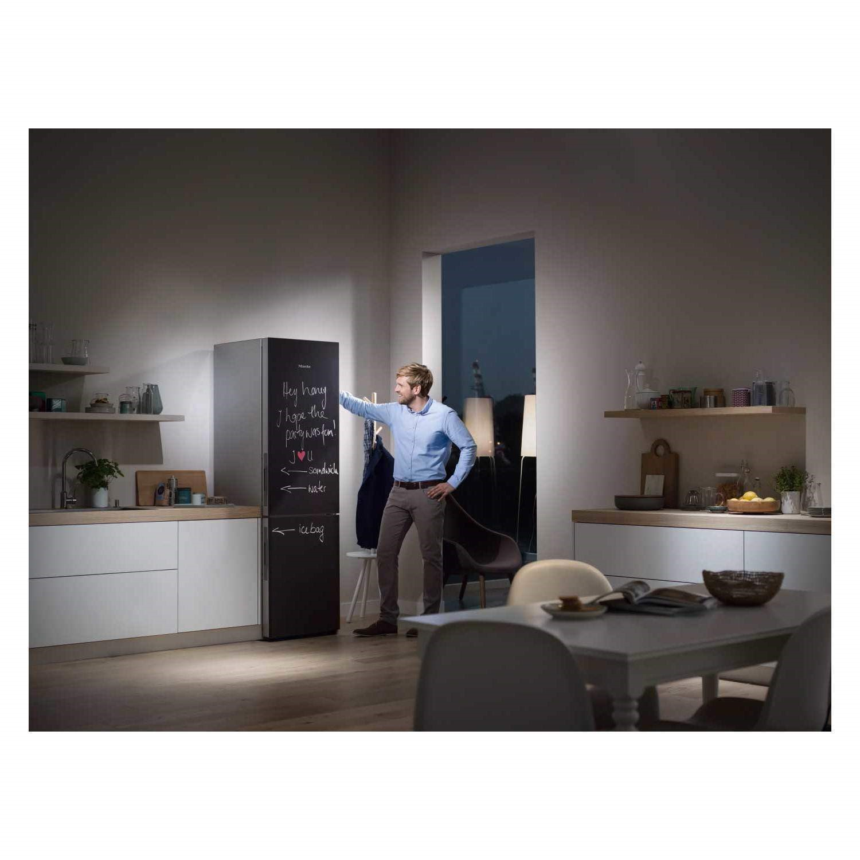 Miele KFN29233DBB Reference Click2Open 201x60cm Frost Free BlackBoard  Freestanding Fridge Freezer