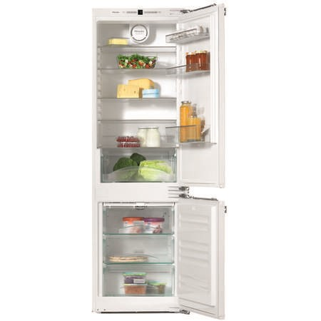 Miele KFN37232iD 56cm Wide Frost Free 70-30 Integrated Upright Fridge Freezer - White