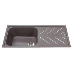 CDA KG81GR Composite Double Bowl Sink Grey