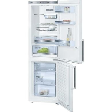 Bosch KGE36BW41G Low Frost White Freestanding Fridge Freezer