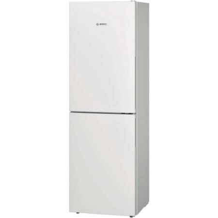 GRADE A2 - Bosch KGN34VW30G Energy Efficient 1.86m Tall Freestanding Fridge Freezer - White