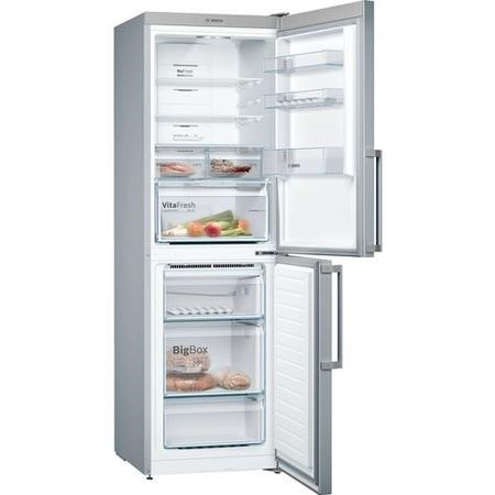 Bosch Serie 8 KGN34XL35G Freestanding Fridge Freezer Frost Free - Stainless Steel Look
