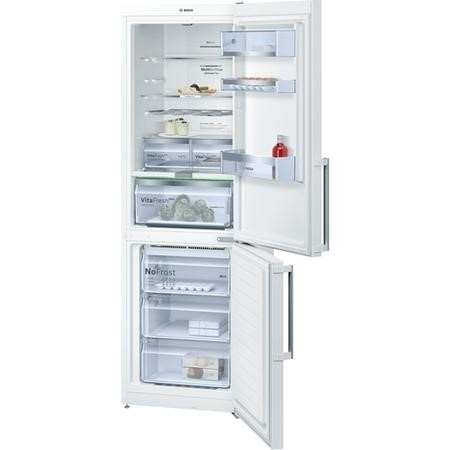 Bosch KGN36AW35G NoFrost Freestanding Fridge Freezer With VitaFresh Drawer White