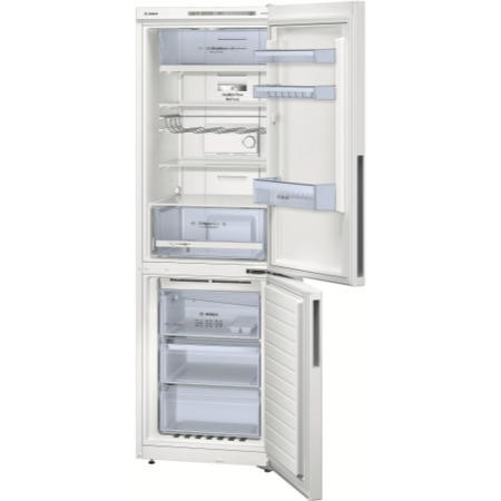 GRADE A2 - Bosch KGN36VW31G Frost Free Multiflow 60/40 Freestanding Fridge Freezer - White