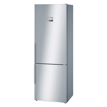 Bosch KGN49AI30G No Frost Easy Clean 435L A++ Fridge Freezer - Stainless Steel