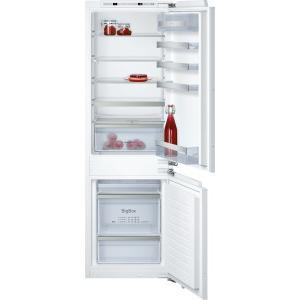 Neff KI6863F30G 56cm Wide 60-40 Integrated Upright Fridge Freezer - White