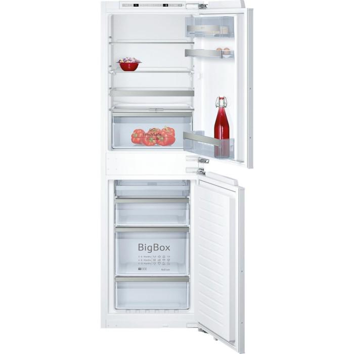 c163359e3e2 NEFF KI7853D30G 56cm Wide Frost Free 50-50 Integrated Upright Fridge Freezer  - White KI7853D30G