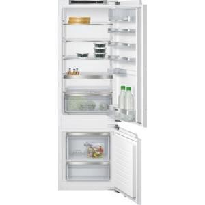 SIEMENS KI87SAF30G Low Frost 70-30 Fixed Hinge Integrated Fridge Freezer With HydroFresh Drawer