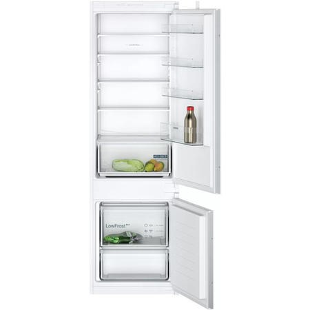 Siemens KI87VNSF0G iQ100 Low Frost 70-30 Split Integrated Fridge Freezer