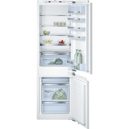 Bosch Serie 6 KIS86AF30G 56cm Wide 60-40 Integrated Upright Fridge Freezer - White