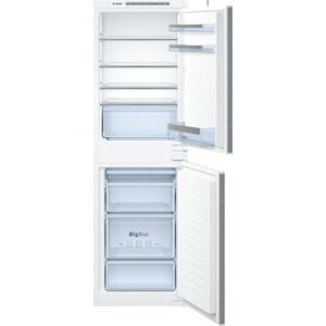 Bosch KIV85VS30G 54cm Wide 50-50 Integrated Upright Fridge Freezer - White