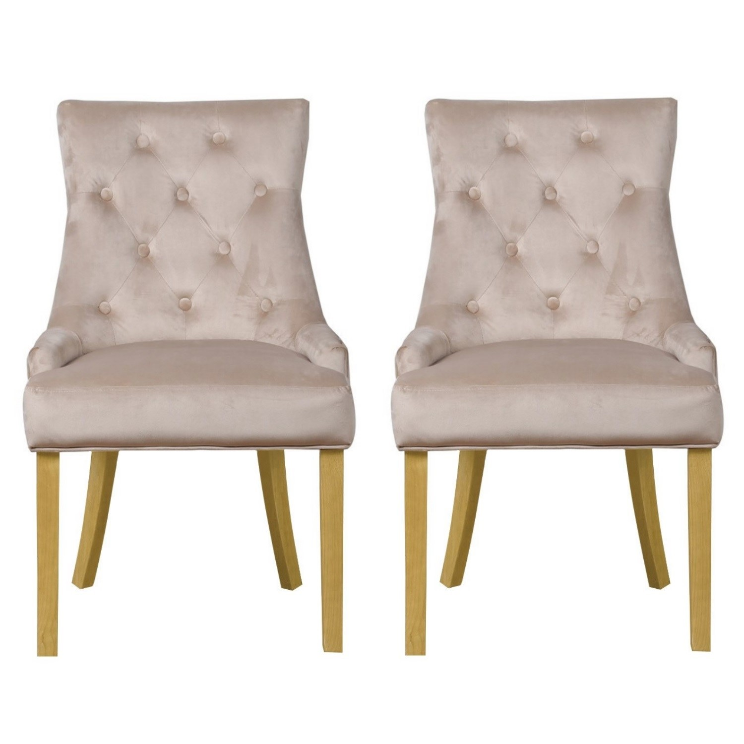 Latest Dining Chairs: New Modern Luxury Premium Pair Of Velvet Dining Chairs
