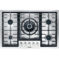 Miele KM2335 KM 2335 77cm Wide Flush Fit 5 Burner Gas Hob - Stainless Steel
