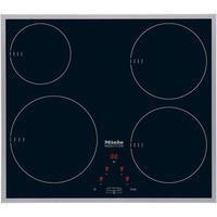 Miele KM6115 57cm 4 Zone Induction Hob with Stainless Steel Trim