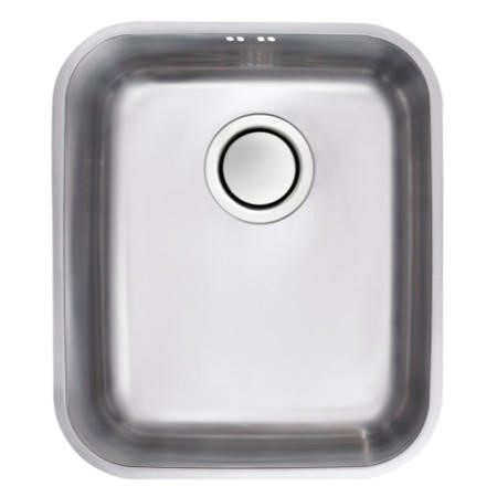 Astracast EDS2XXHOMESK Edge S2' Undermount Single Bowl Polished Stainless Steel Sink