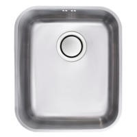 Astracast EDS1XXHOMESK Edge S1' Undermount Single Bowl Polished Stainless Steel Sink