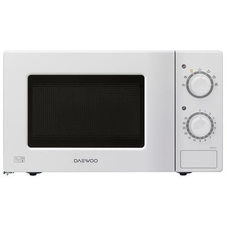 Daewoo KOR6L77 20L 700W Freestanding Microwave in White