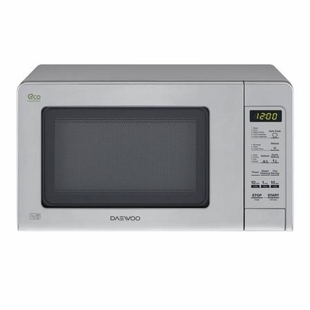 Daewoo KOR6M5RR 20L Touch Control Freestanding Microwave With Eco Zero Standby - Silver