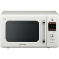 Daewoo KOR7LBKW 20L 800W Freestanding Microwave Oven White