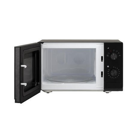 Daewoo KOR7LC7BK 20L 800 W Manual Control Microwave Oven with CRS 7 variable power levels Black