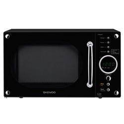 Daewoo KOR8A9RB 23L 800 W Retro Design Microwave Oven Black