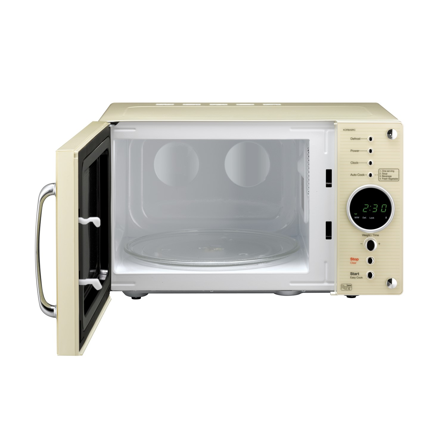 Daewoo Microwave Oven Parts: Daewoo KOR8A9RCR 23L 800W Retro Style Freestanding