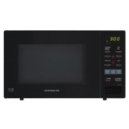 Daewoo KOR9GPB 26L 900W Freestanding Touch Control Microwave in Black