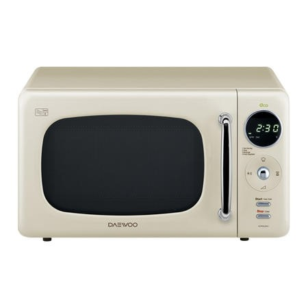 Daewoo Kor9lbkcr 20l 800w Freestanding Microwave With Eco