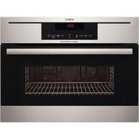 AEG KR8403021M Built-in Combination Microwave Oven In Stainless Steel With Anti-fingerprint Coating