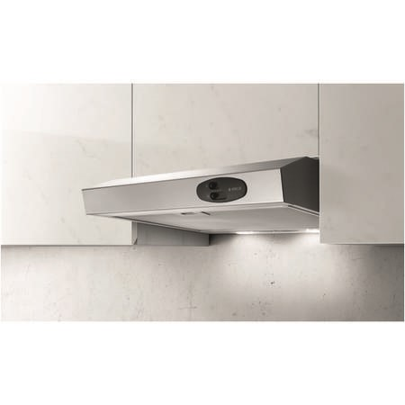 Elica KREA-TW-60-SS Lux Slimline Stainless Steel 60cm Wide Conventional Cooker Hood