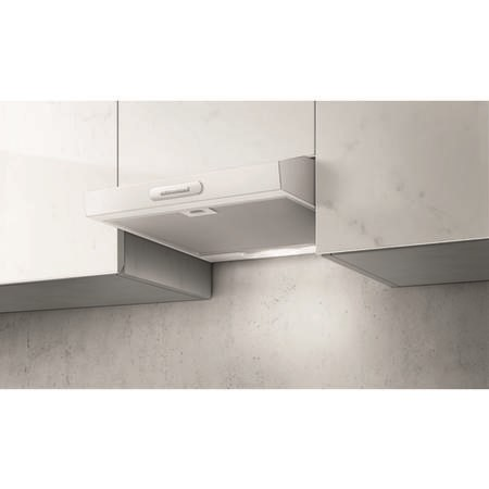 Elica KREA-ST-60-WH 60cm Conventional Cooker Hood White