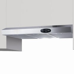 Elica KREAST60SS KREA ST 60cm Conventional Cooker Hood Stainless Steel