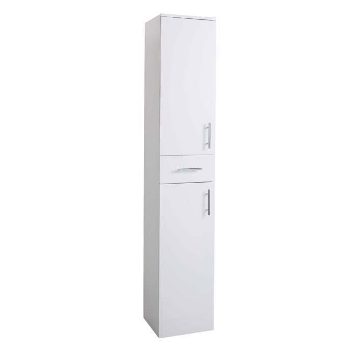 White tall boy bathroom cabinet storage unit w350 x - White tall bathroom storage unit ...
