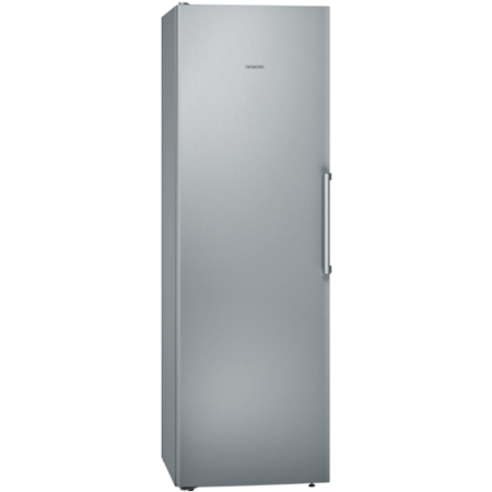 Siemens KS36VVI3VG 186x60cm 346L Freestanding Upright Fridge - Anti-fingerprint Stainless Steel