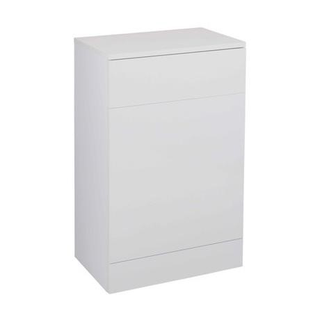 White Back to Wall WC Toilet Unit - Without Toilet - W500 x D330mm